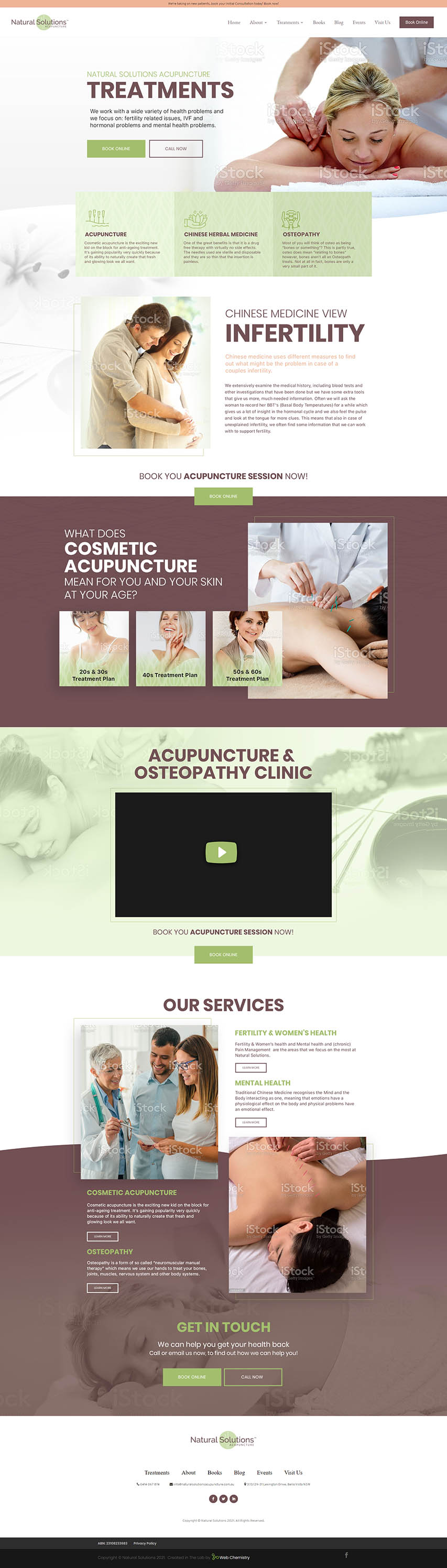 Natural Acupuncture Homepage